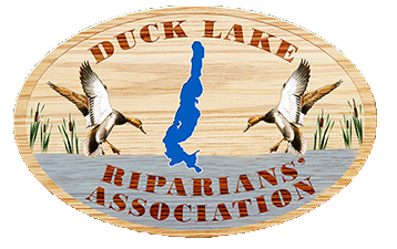 Duck Lake Riparians' logo